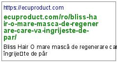 https://ecuproduct.com/ro/bliss-hair-o-mare-masca-de-regenerare-care-va-ingrijeste-de-par/